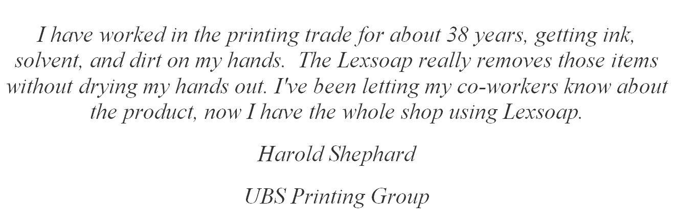 harold shepard testimonial