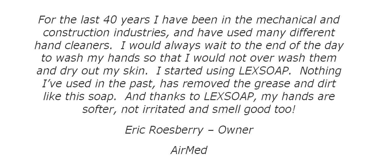 eric roesberry tesimonial