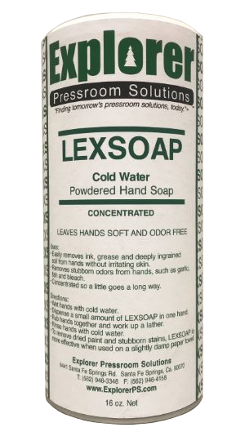 single can of Lexsoap